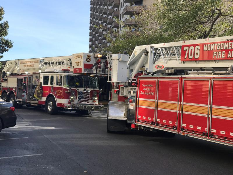 High Rise Fire With Major Evacuation