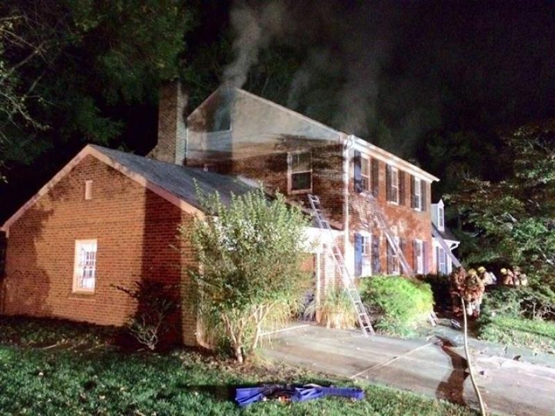 2nd Due Working House Fire