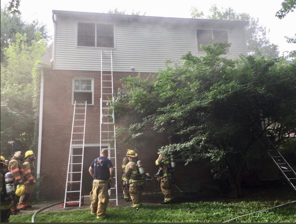 Tower Runs Johnson Ave House Fire